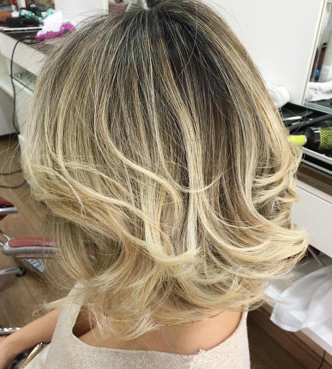 50 best medium length layered haircuts in 2019 - hair adviser