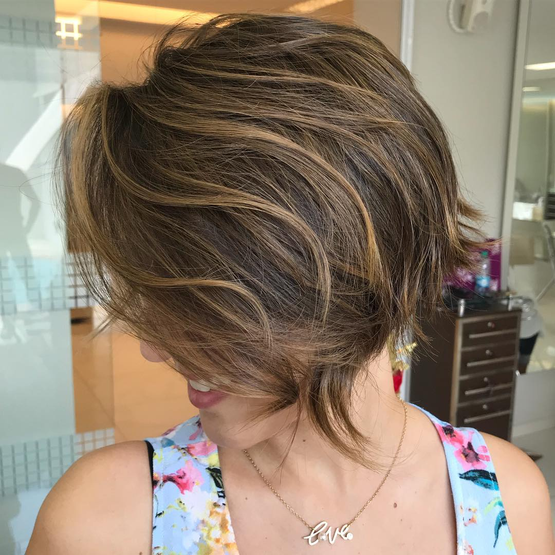 Razored Haircut for Women with Thick Hair