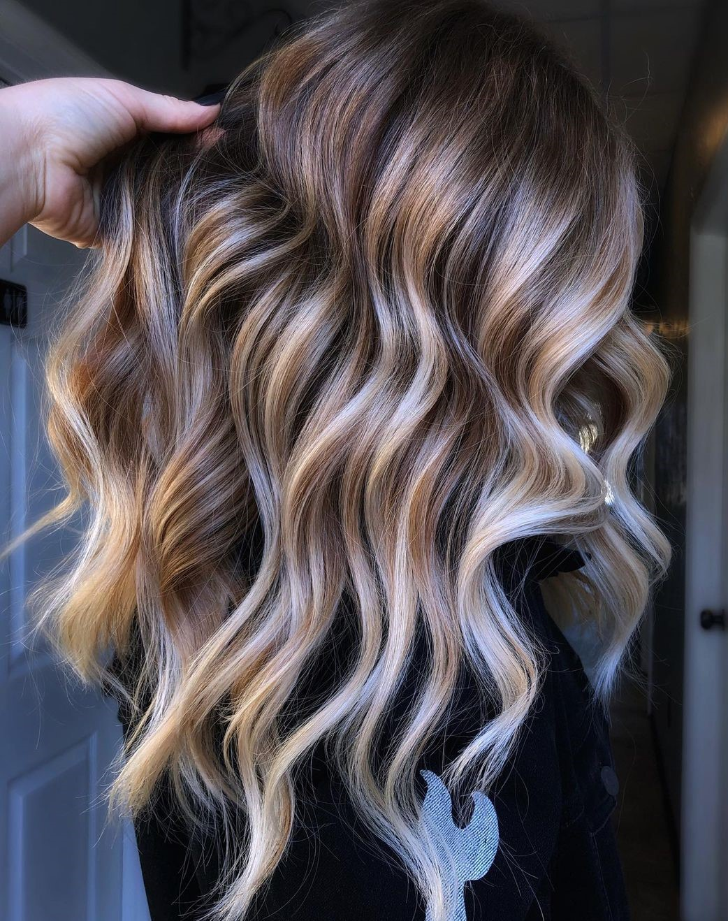 Cool Blonde Balayage Hair