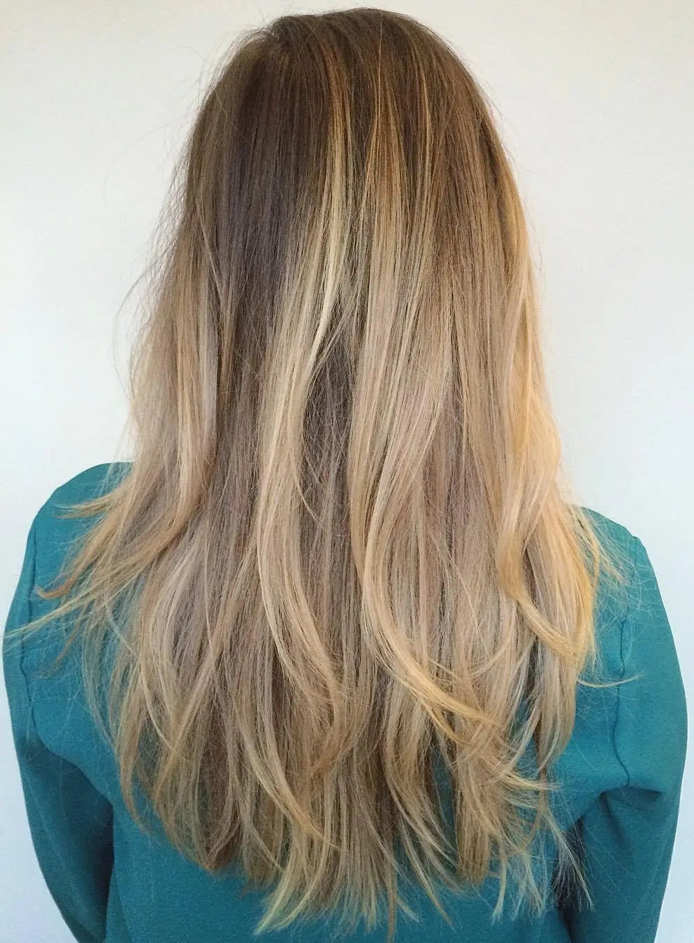 Long Messy Haircut