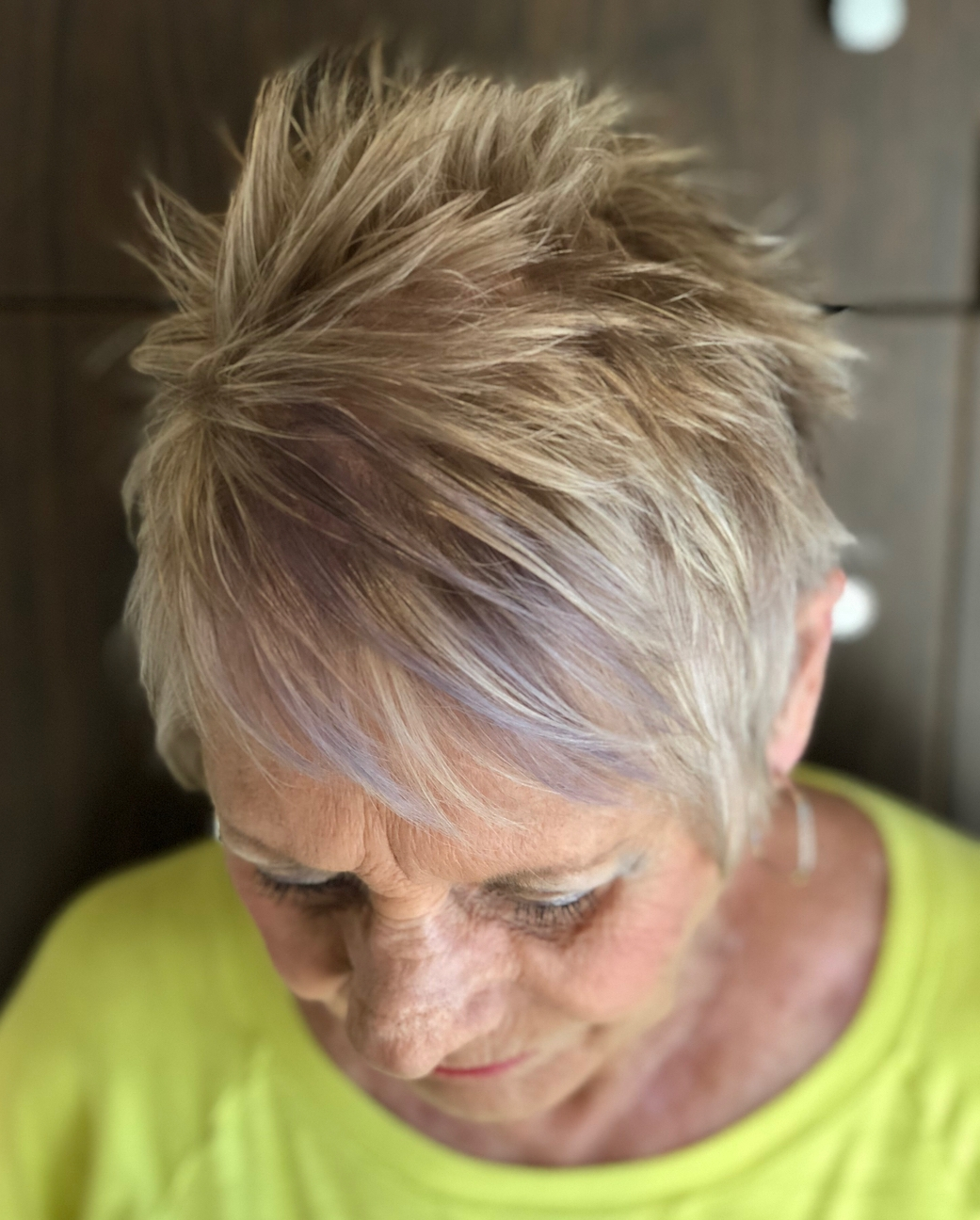 Short Spiky Cut for Women with Fine Hair