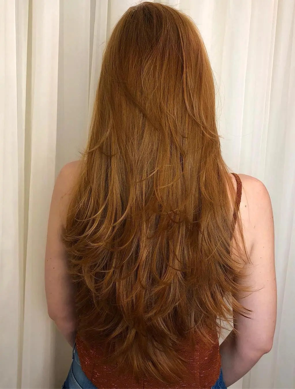 Layers for Long Straight Hair