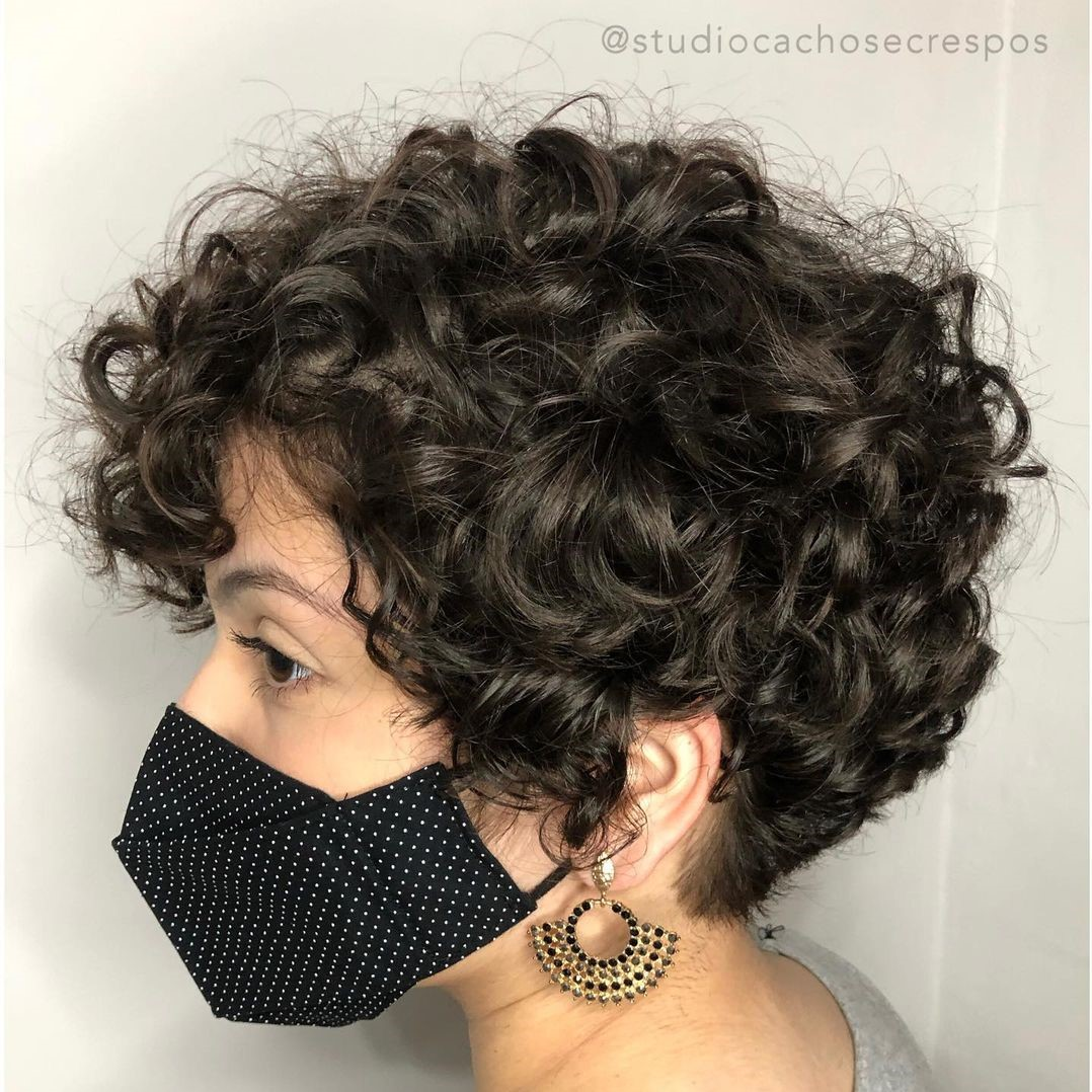 Long Wavy Pixie Hairstyle
