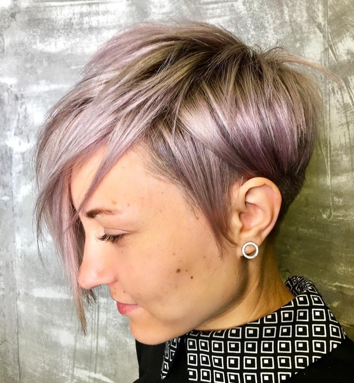 Edgy Pastel Purple Pixie