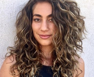 Layered Haircut for Long Curly Hair