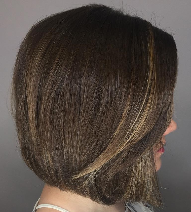 Current Bob with Subtle Highlights