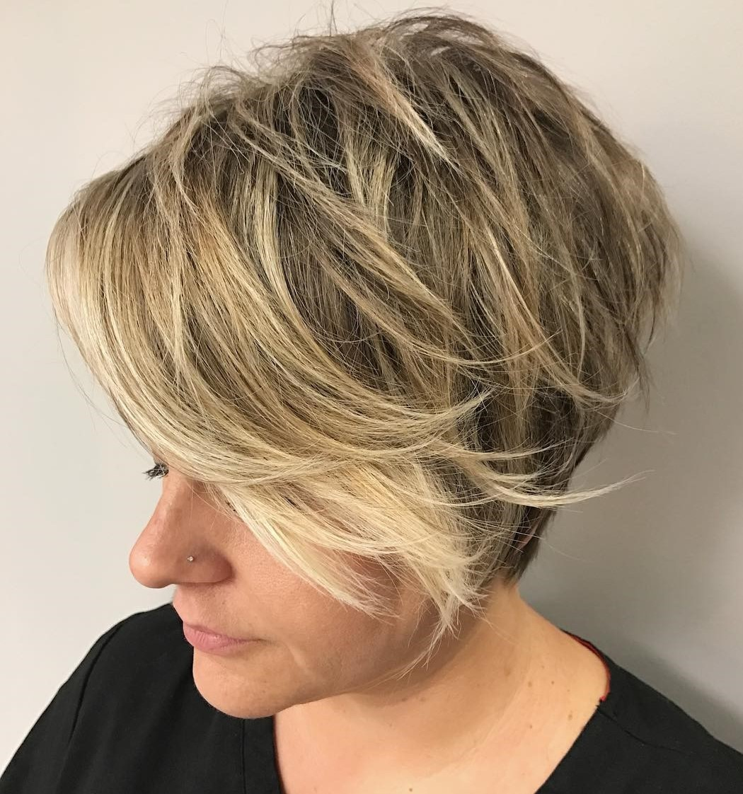 Long Feathered Tapered Pixie