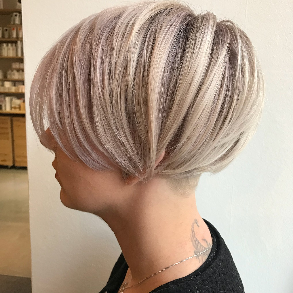 Half-Shaved Pixie with Long Layers