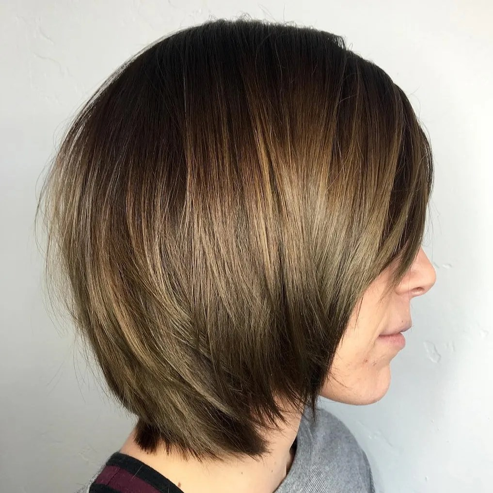 Bob with Layers and a Fringe