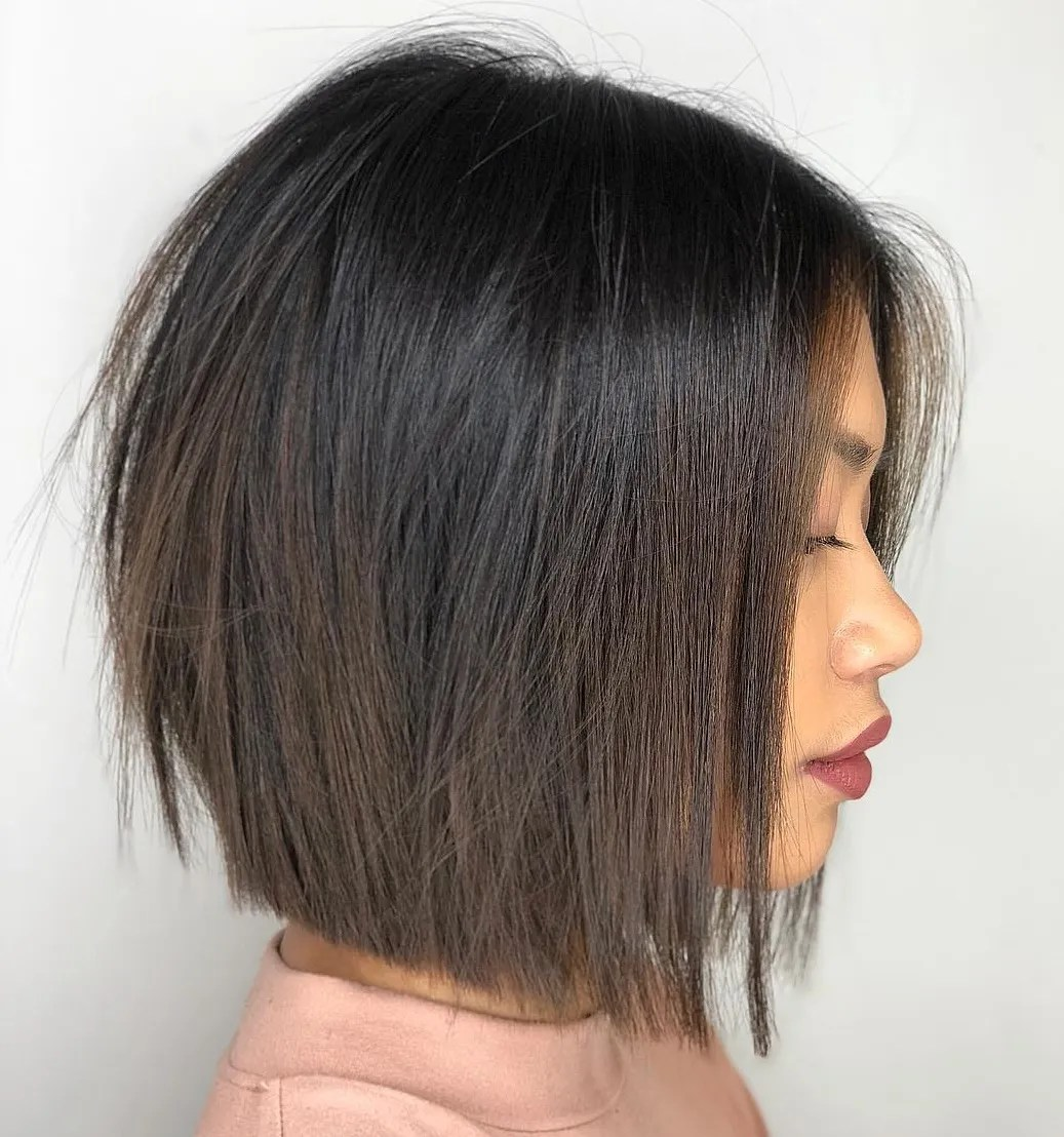 Sophisticated Blunt Bob