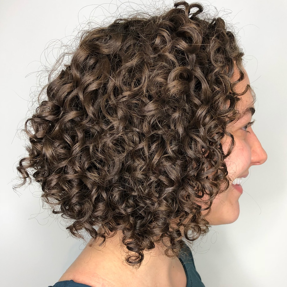 Bob Haircut for Natural Curls