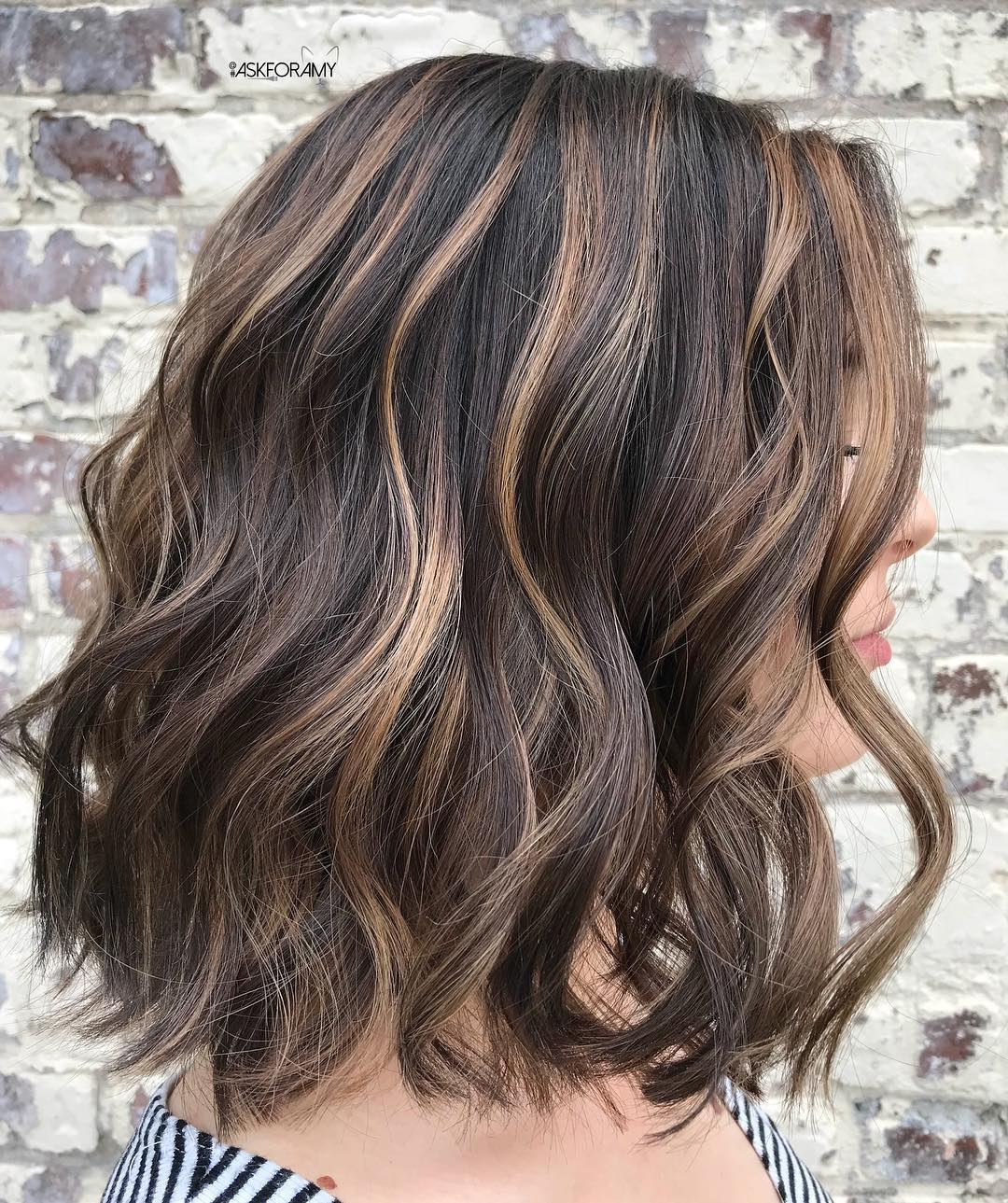 12 Dark Brown Hair with Highlights Ideas for 12 - Hair Adviser
