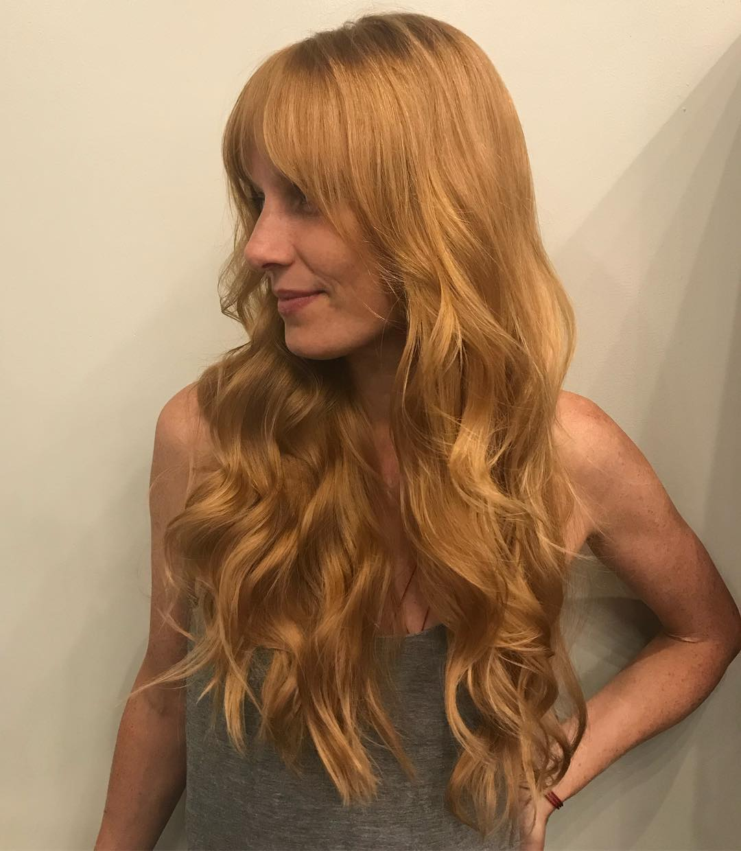 Long Hairstyle with Wavy Layers