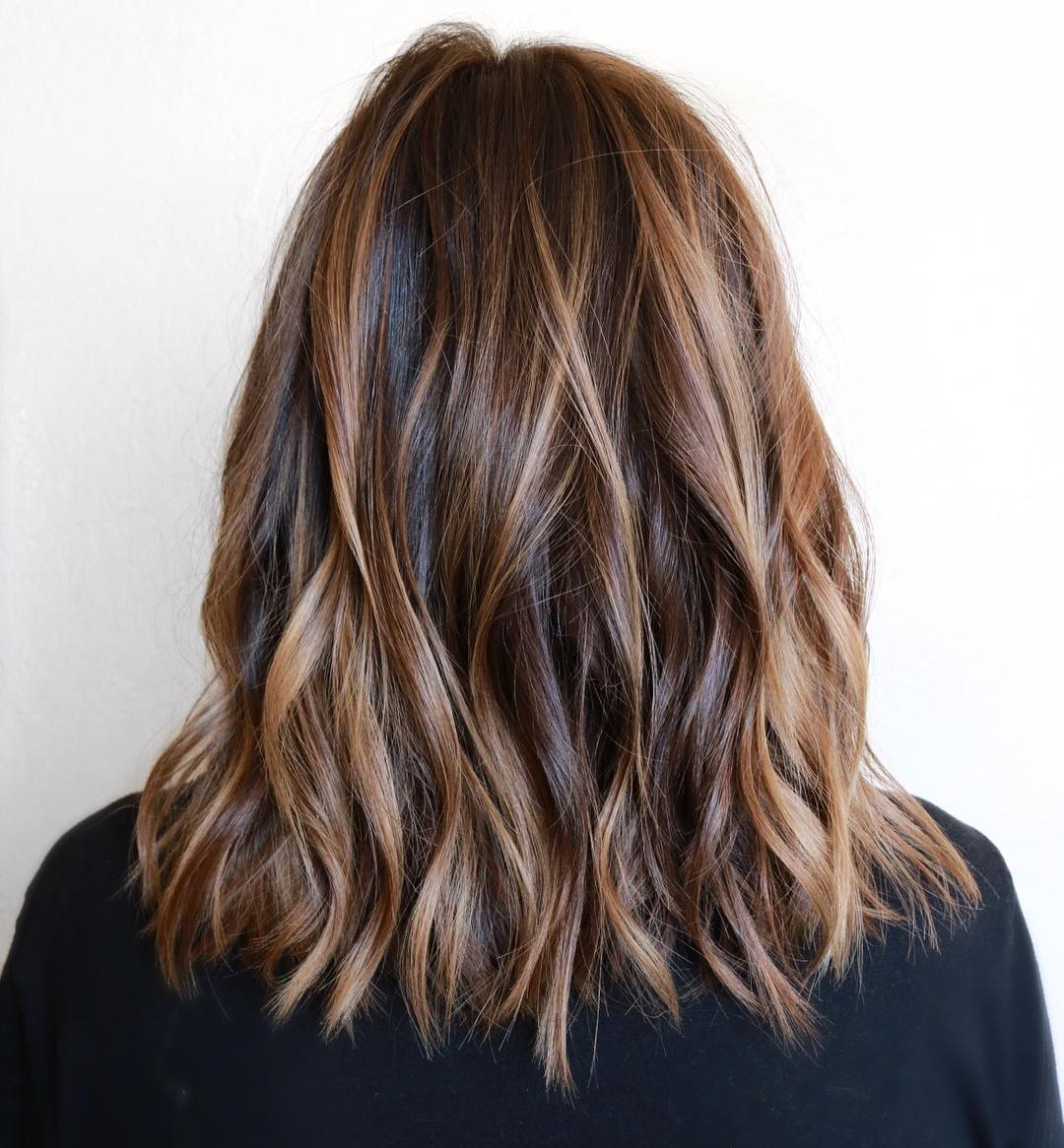 50 dark brown hair with highlights ideas for 2019 - hair adviser