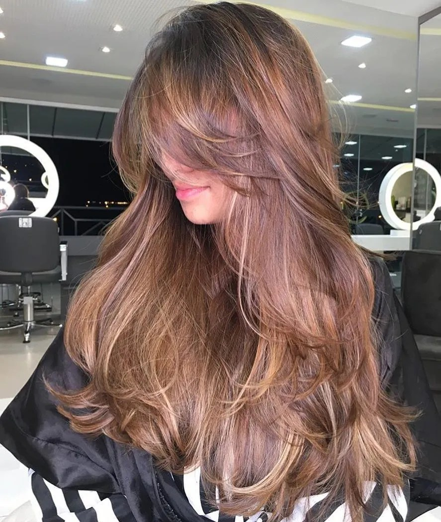 Sexy Extra Long Hair with Layers