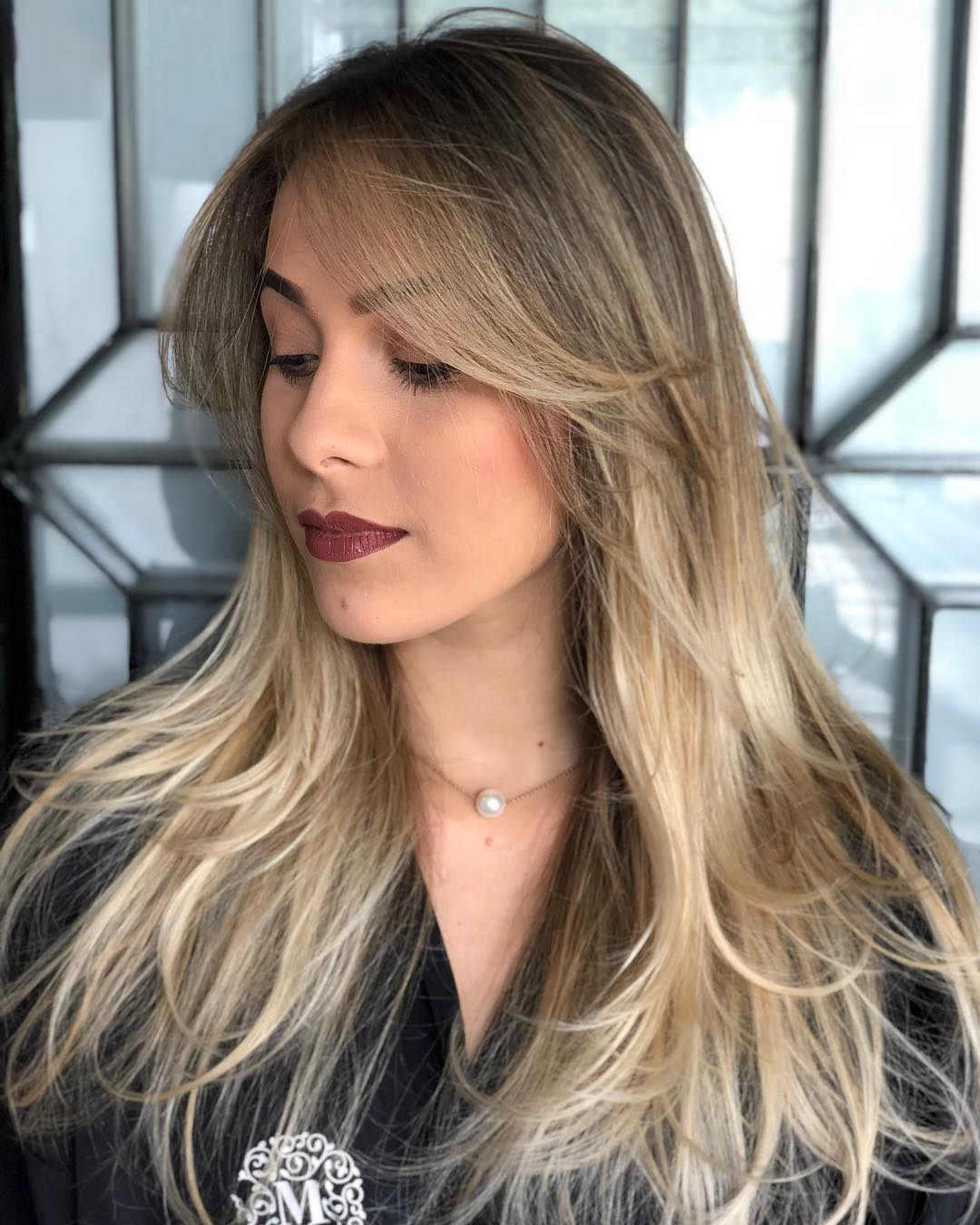 Long Tousled Hairstyle for Fine Hair