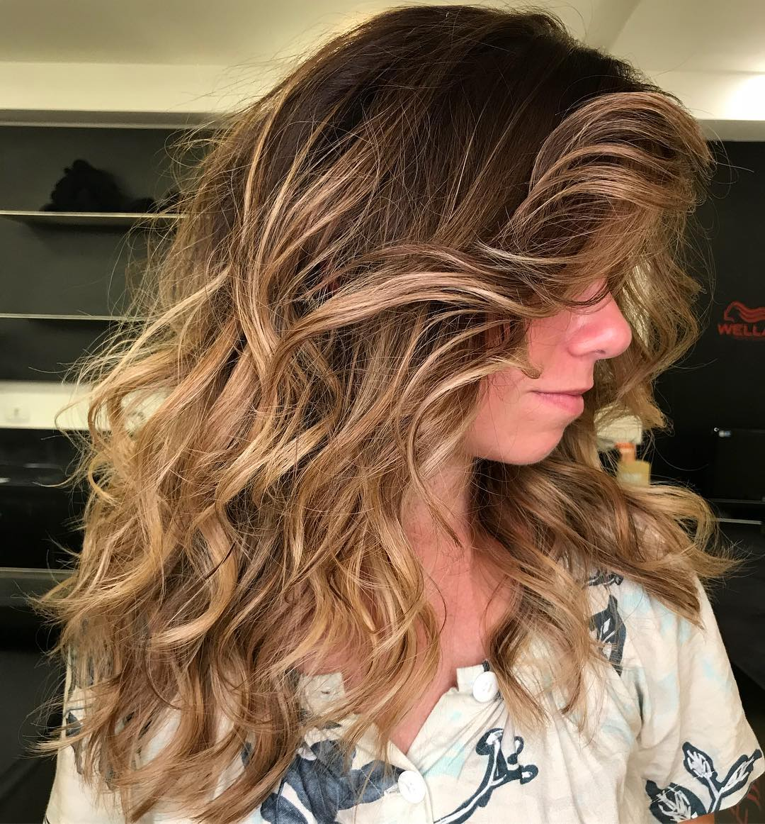 Longer Hairstyle with Voluminous Layers