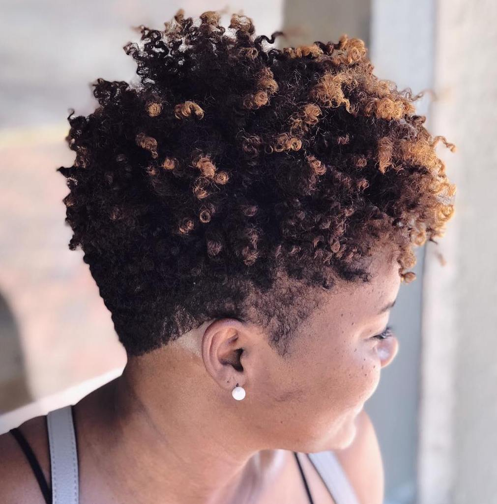 12 Breathtaking Hairstyles for Short Natural Hair - Hair Adviser