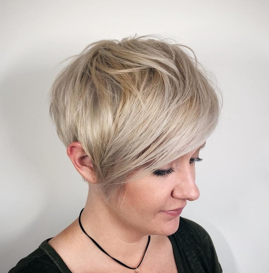 Long Easy to Style Pixie