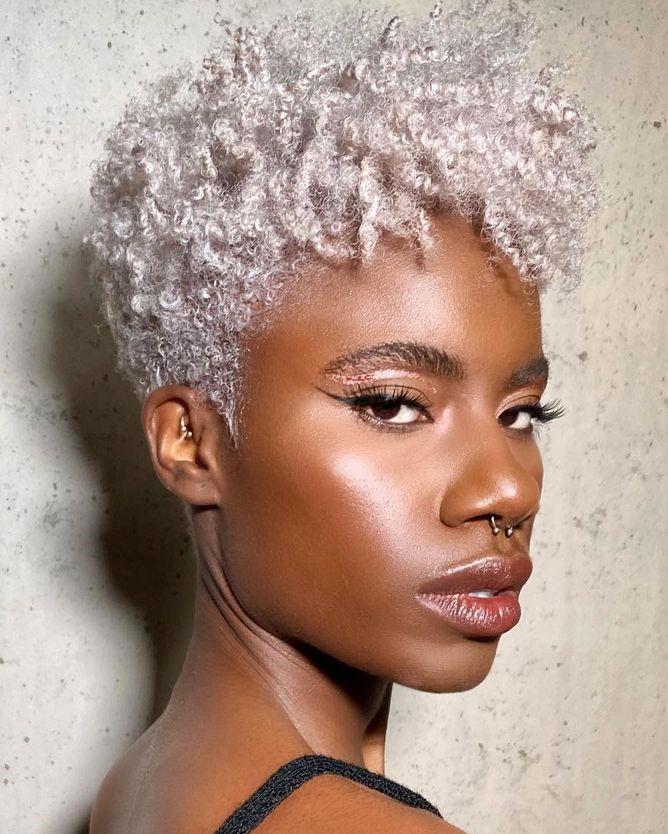 Blonde Pixie for Black Females