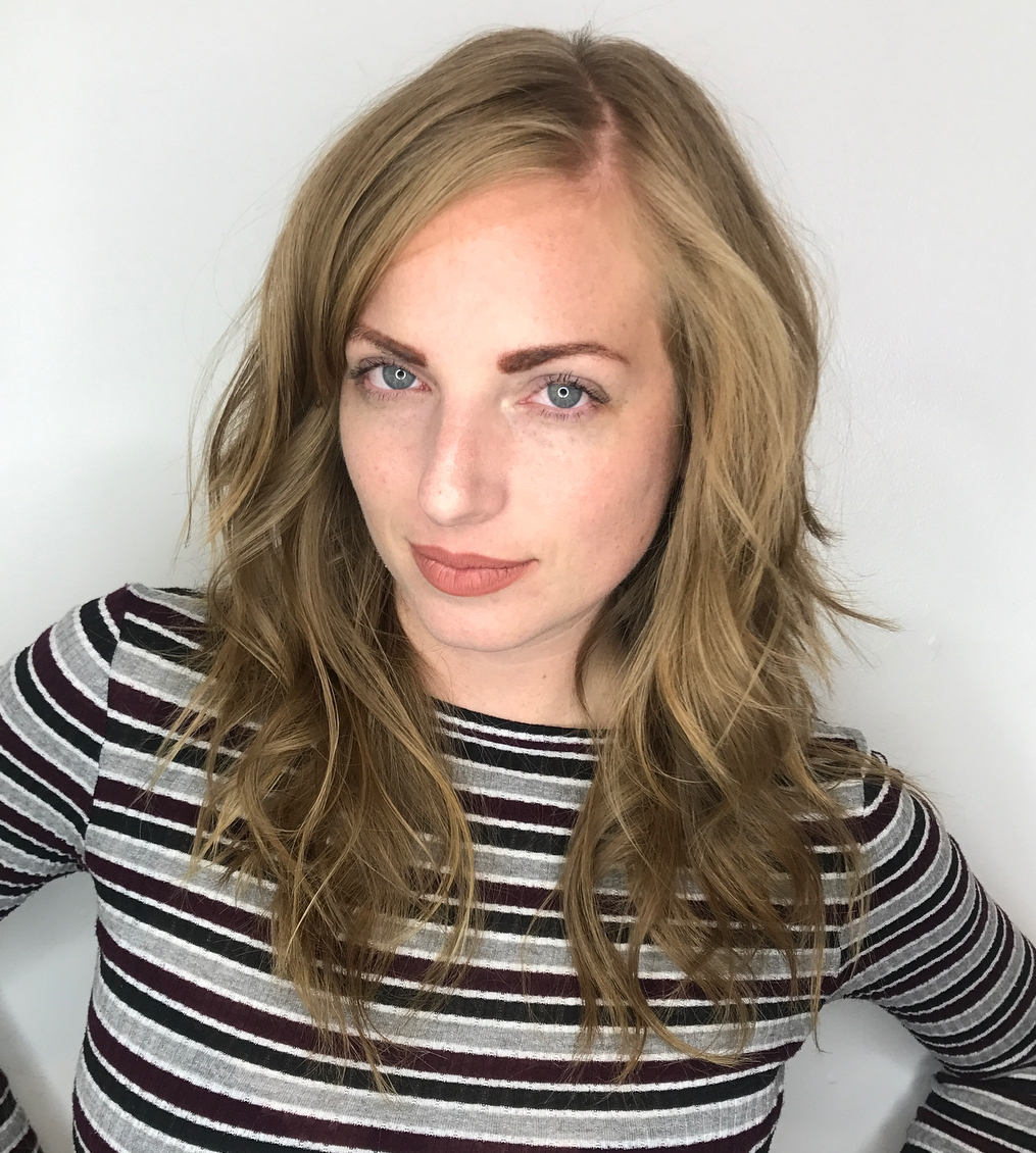 Medium-to-Long Dark Blonde Shag Haircut