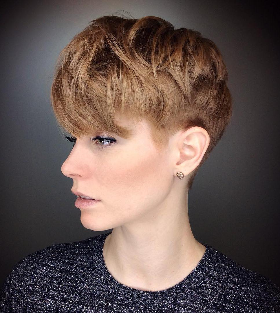 Tapered Pixie for Thick Hair