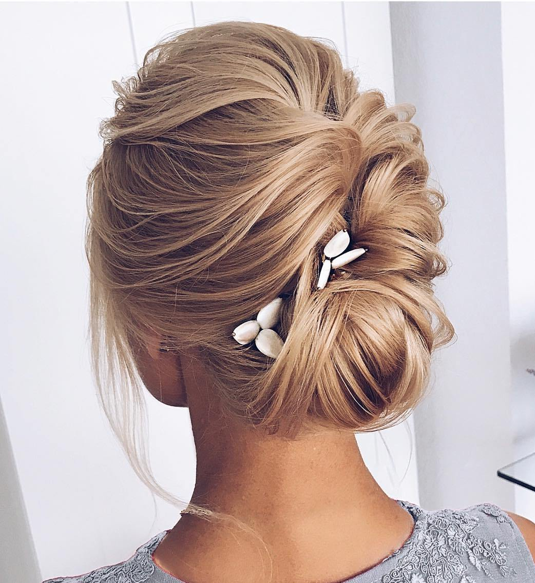 Formal Messy French Twist Updo