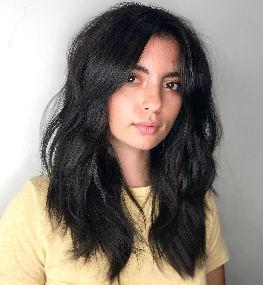 Layered Cut for Thick Hair