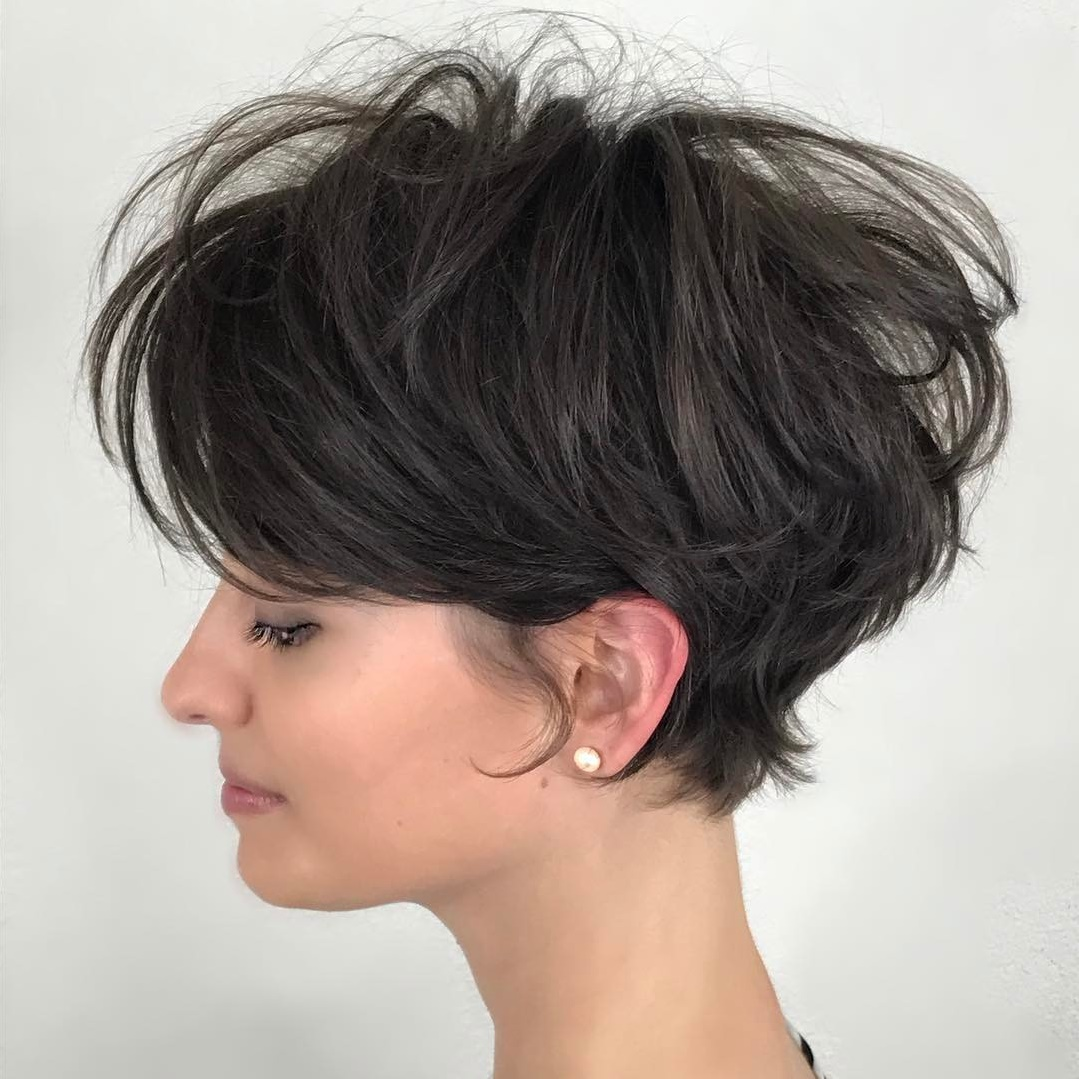 Tousled Pixie with Volume