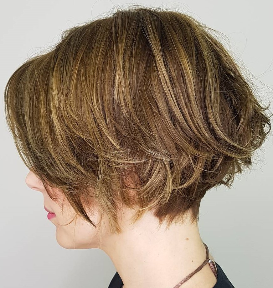 Choppy Jaw-Length Bob