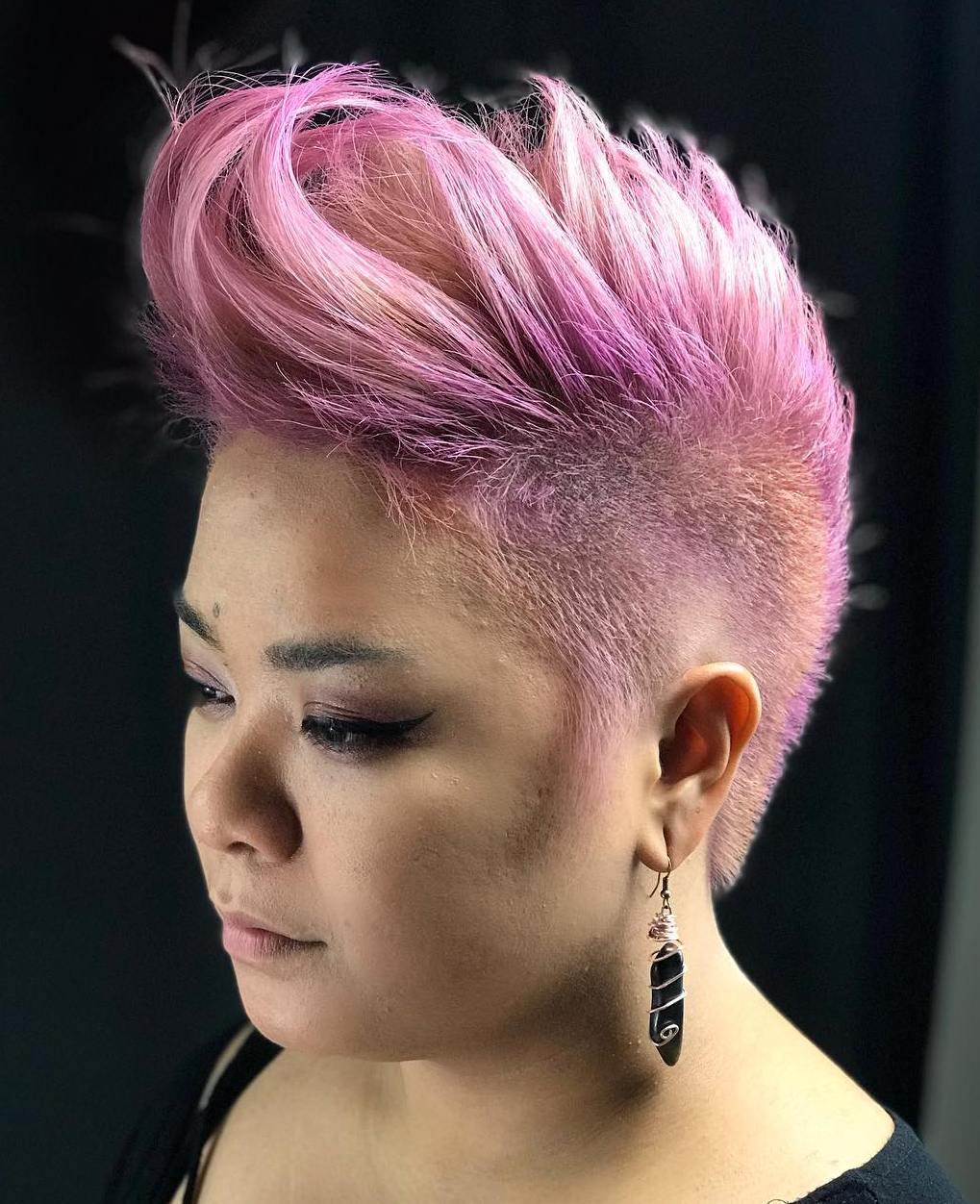 Pale-Pink Mohawk