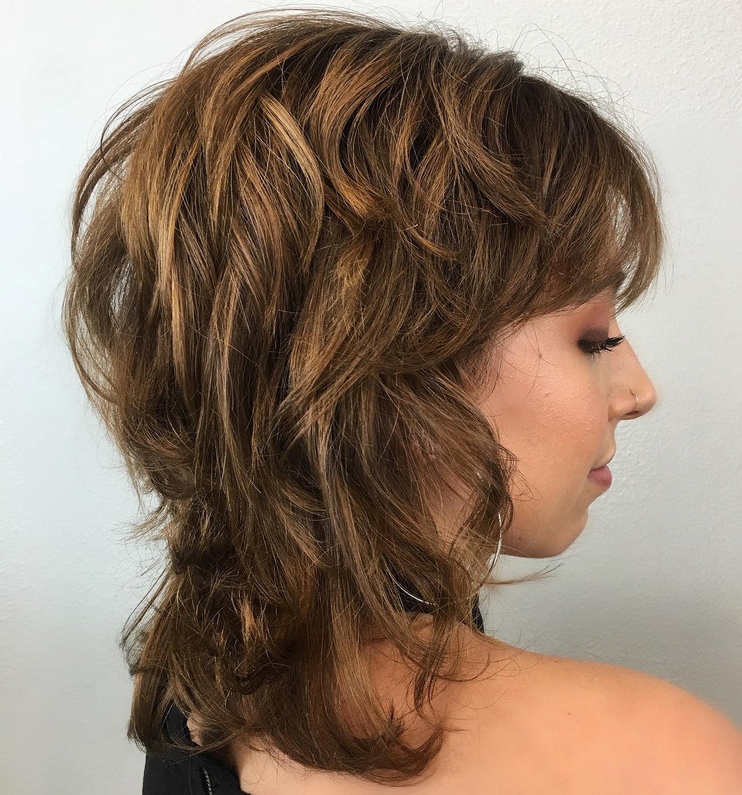Medium Shag with Shorter Layers