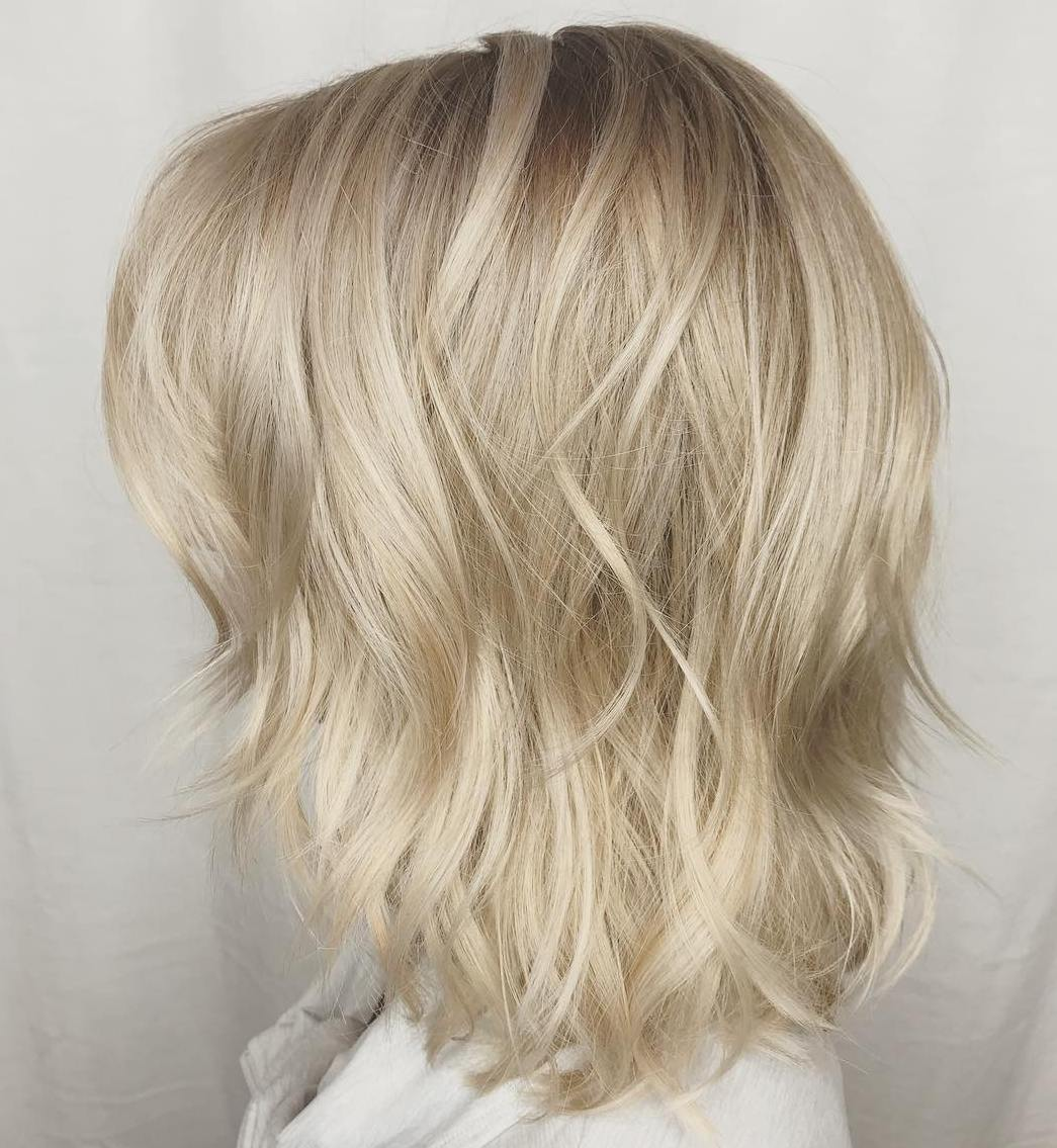 Soft Medium-Length Shag Cut