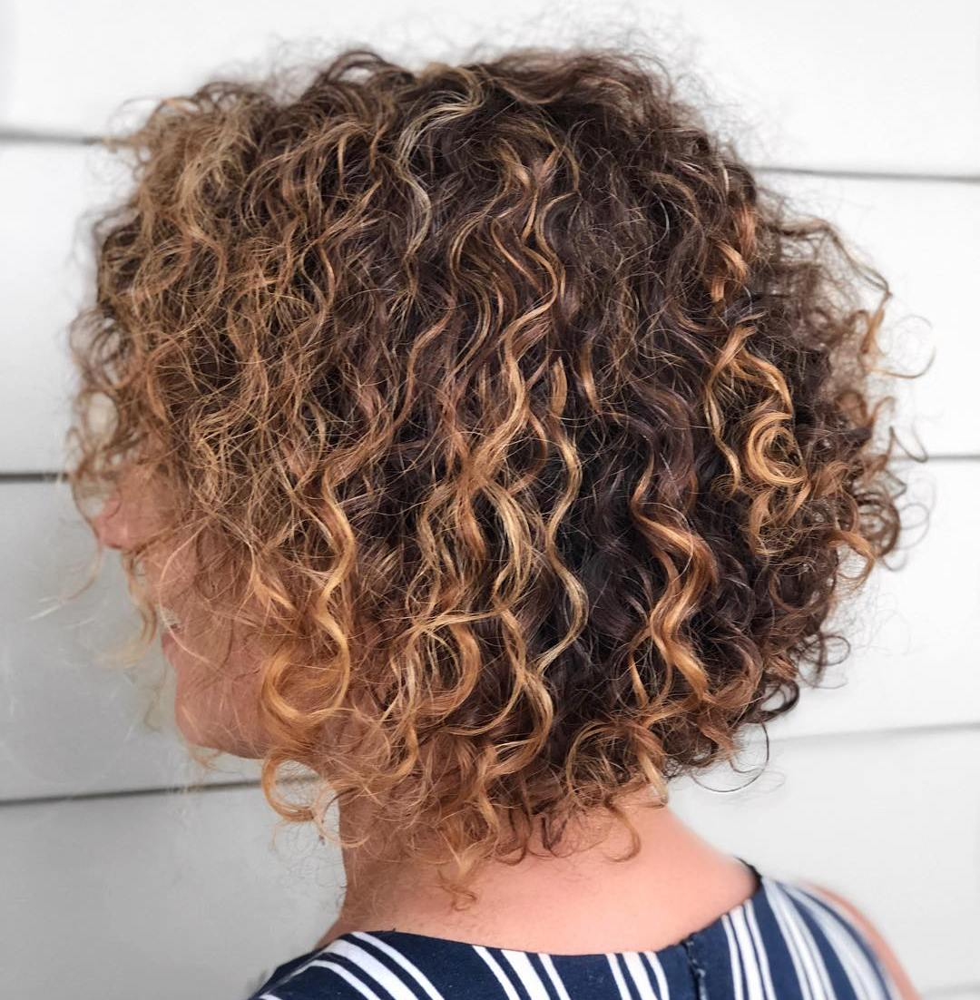 Perm Bob with Well-Defined Curls
