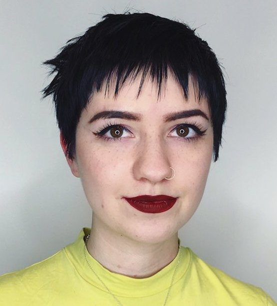 Very Short Edgy Haircut