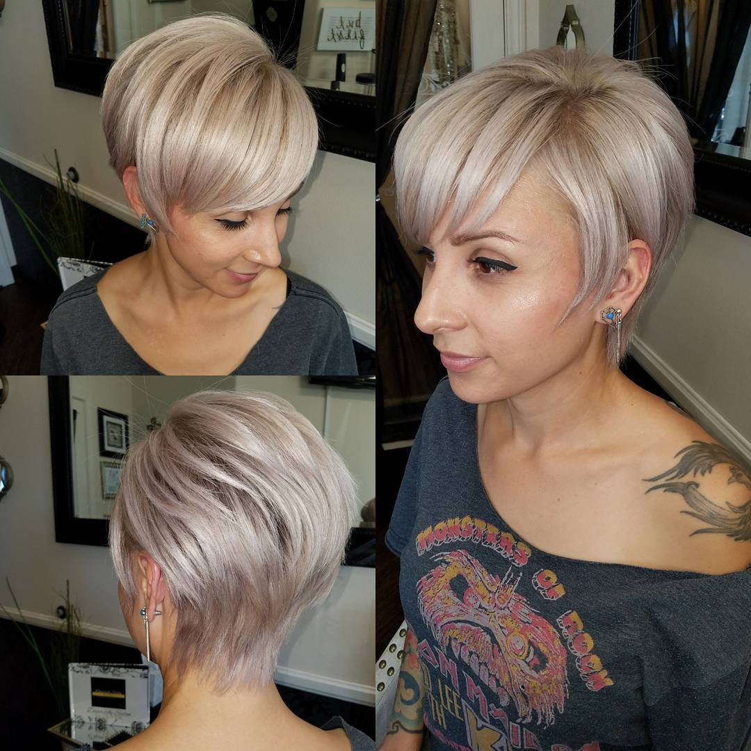 Tapered Pixie with Layers