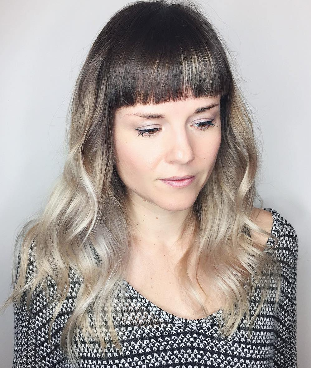 Long Layered Hairstyle with Ombre