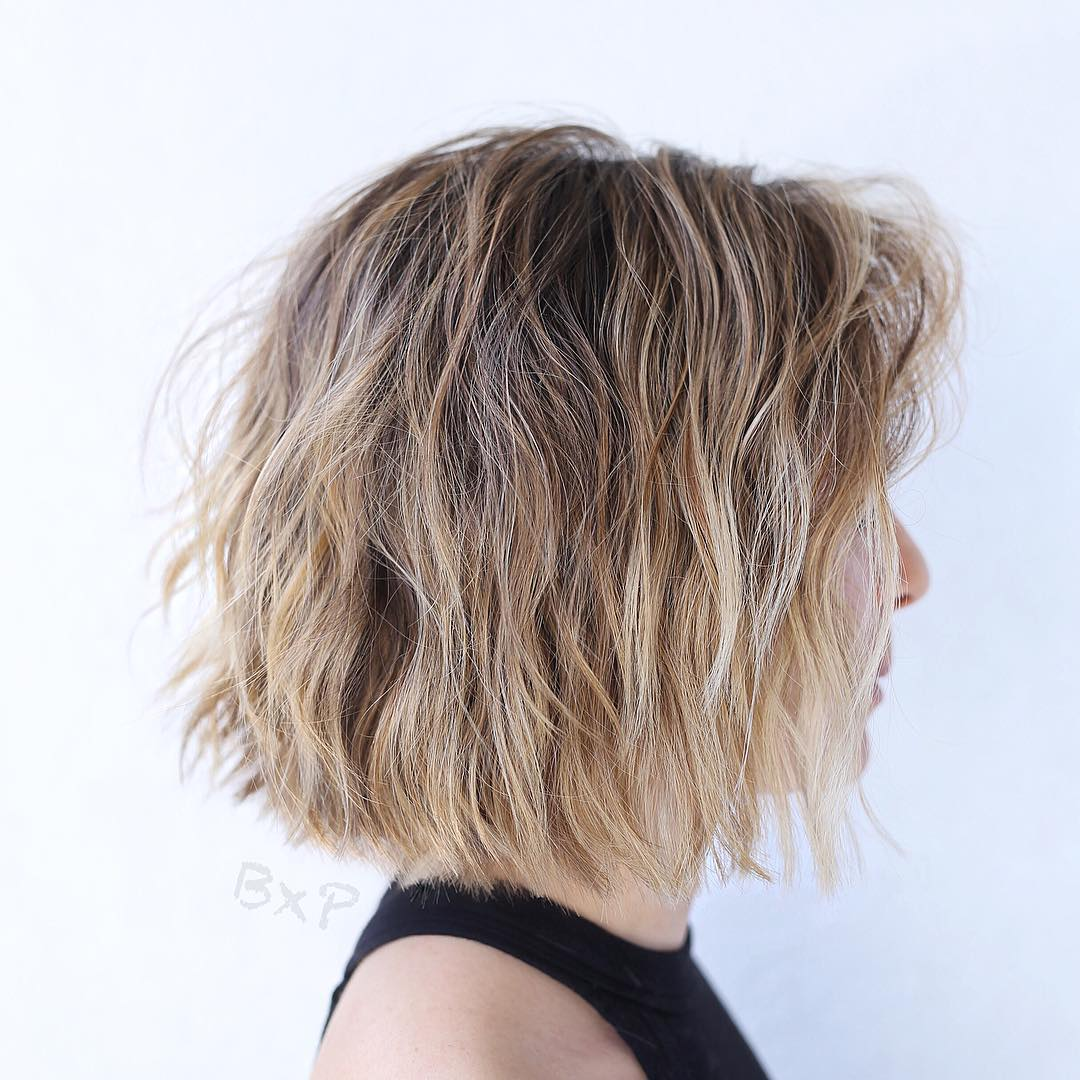 Beach Ready Razored Layered Bob