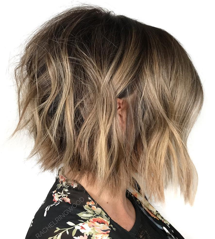 Bronde Bob with Easy Waves