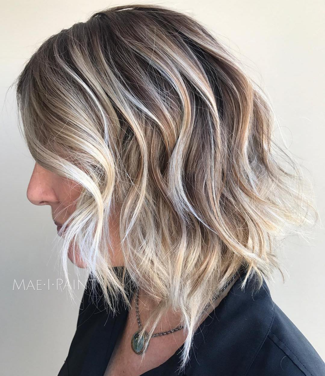 Medium Bob for Thin Curly Hair