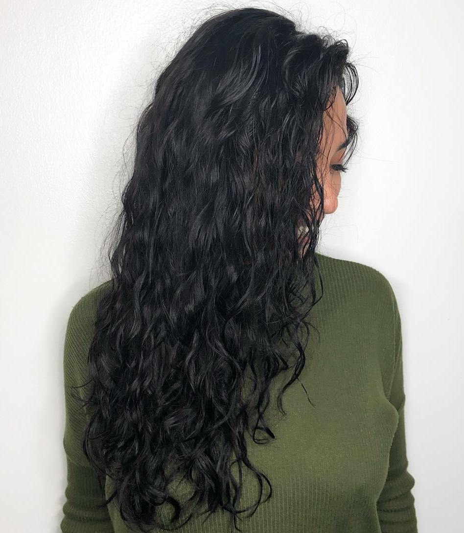 Beautiful Loose Perm for Long Hair
