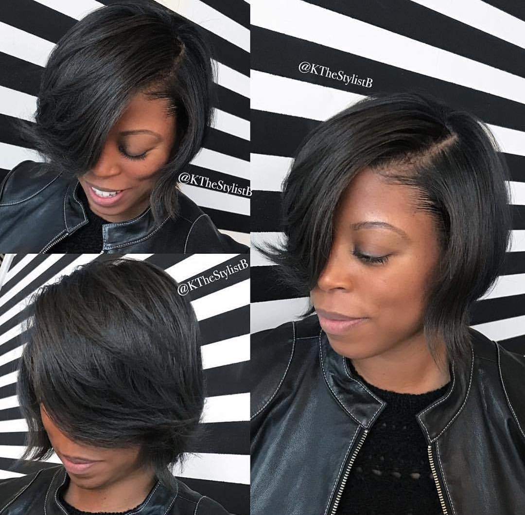 Feathered Bob for Thin Hair