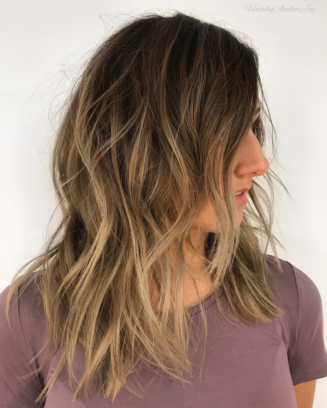 Cool Blonde Highlights for Brown Hair