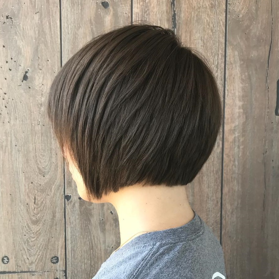 Straight Jaw-Length Bob with Layers