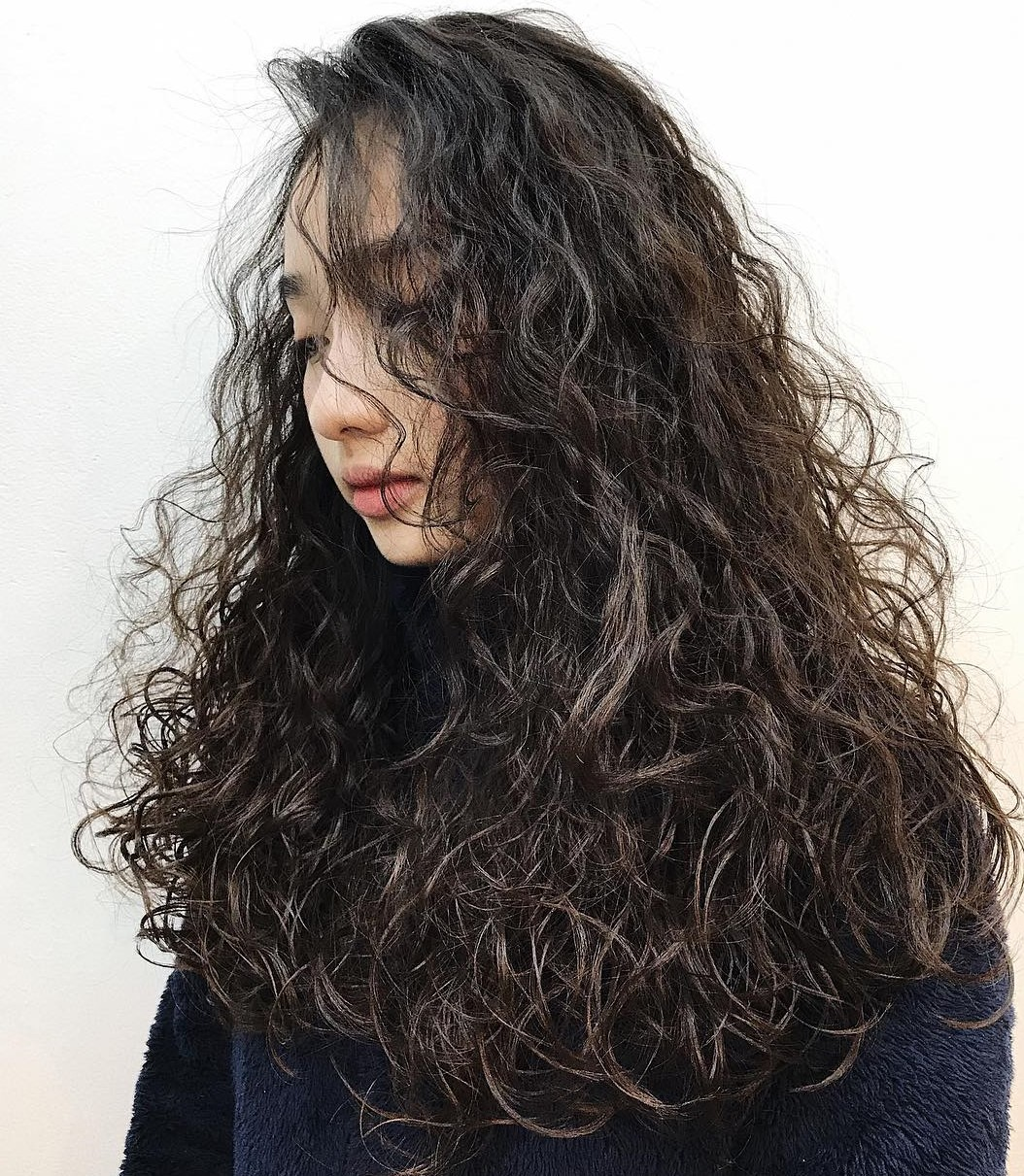 Long Cascade of Perm Curls