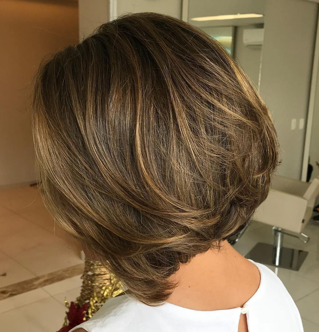 Subtle Thin Highlights for Brown Hair