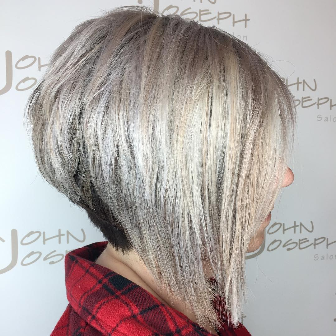 Stacked Inverted Silver Bob