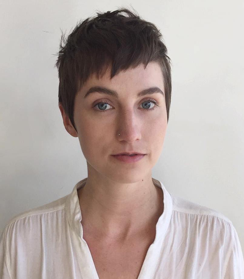 Short Pixie with Messy Texture