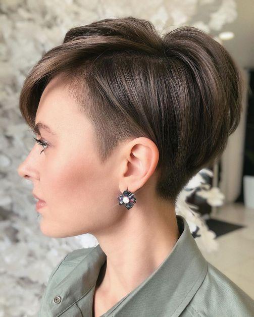 Undercut Short Pixie Cut for Fine Hair