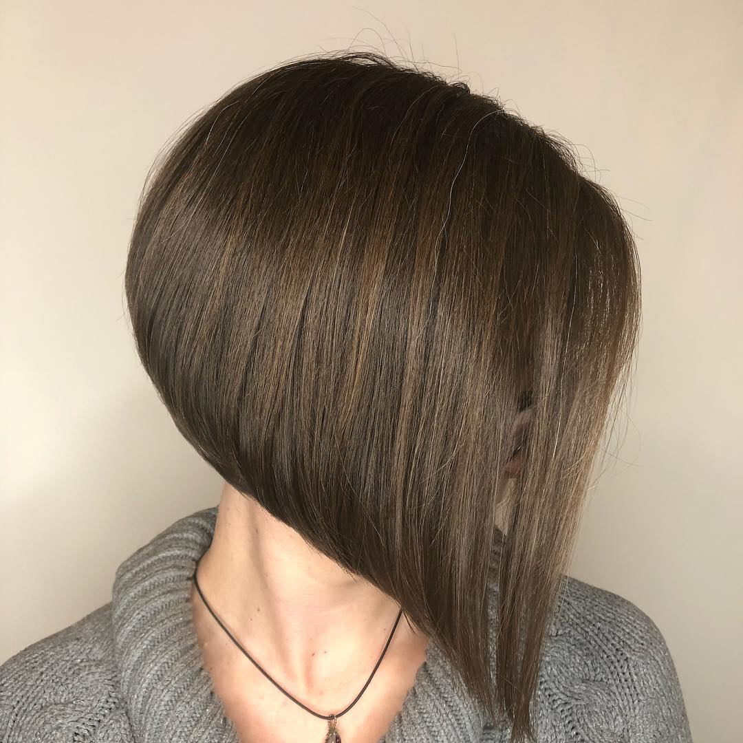 Sleek Chic A-line Bob